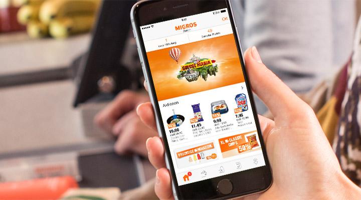 Migros Shopping App