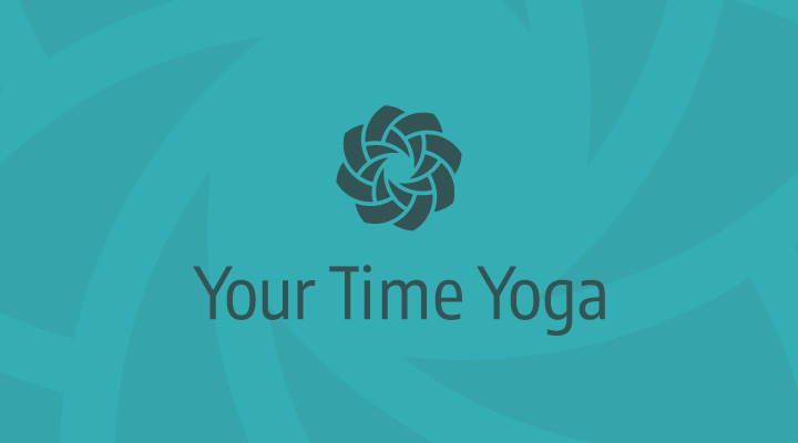 visual identity for your time yoga
