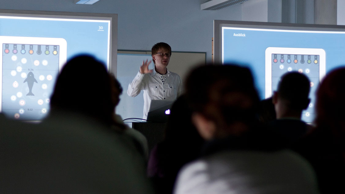 Picture of a presentation