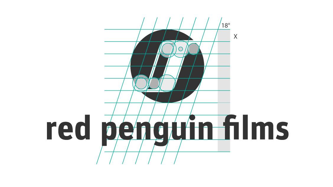 Logo red penguin films